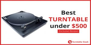 Top Turntables under 500