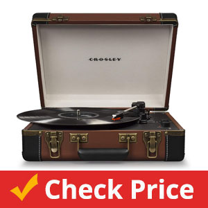 Crosley-CR6019D-BR-Executive-Portable-USB-Turntable-with-Bluetooth