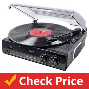 Lauson-CL502-Turntable,-USB-Vinyl-to-MP3,-Vinyl-Record-Player-2-Speed
