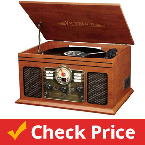 Victrola-Nostalgic-Classic-Wood-6-in-1-Bluetooth-Turntable
