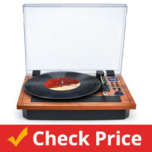 WOCKODER-Turntable-Vinyl-Record-Player-Support-Wireless-in-&-Out-Record-Player
