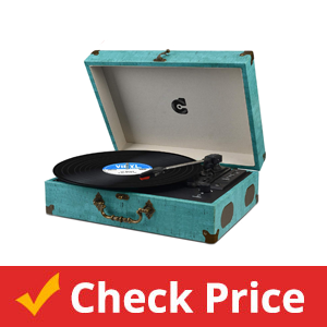Record-Player-with-Speakers-Turntable-Wireless-Portable-LP-Phonograph-with-Built-in-Stereo-Speakers-Suitcase-Design-Turntable-USB