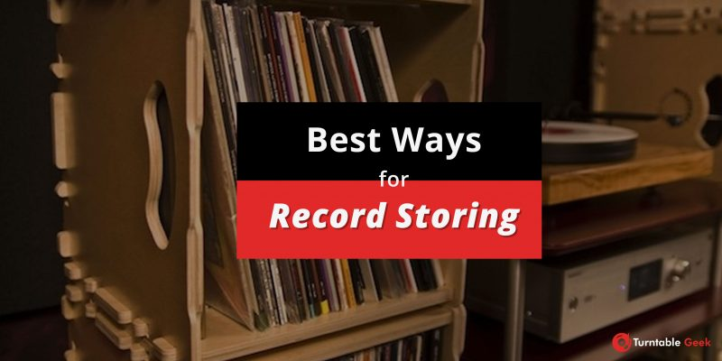 vinyl record storing ideas - Best ways to store records safely