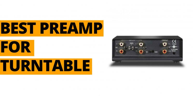 Best Phono preamp-for-turntable